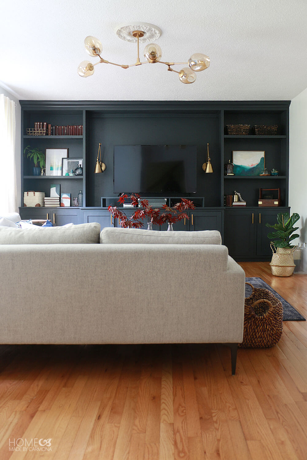 Living-room-with-built-in-bookcases