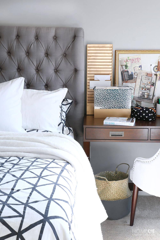 Master-bedroom-desk-side-table
