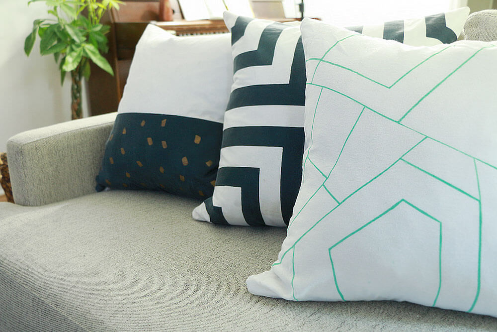 Painted-pillows