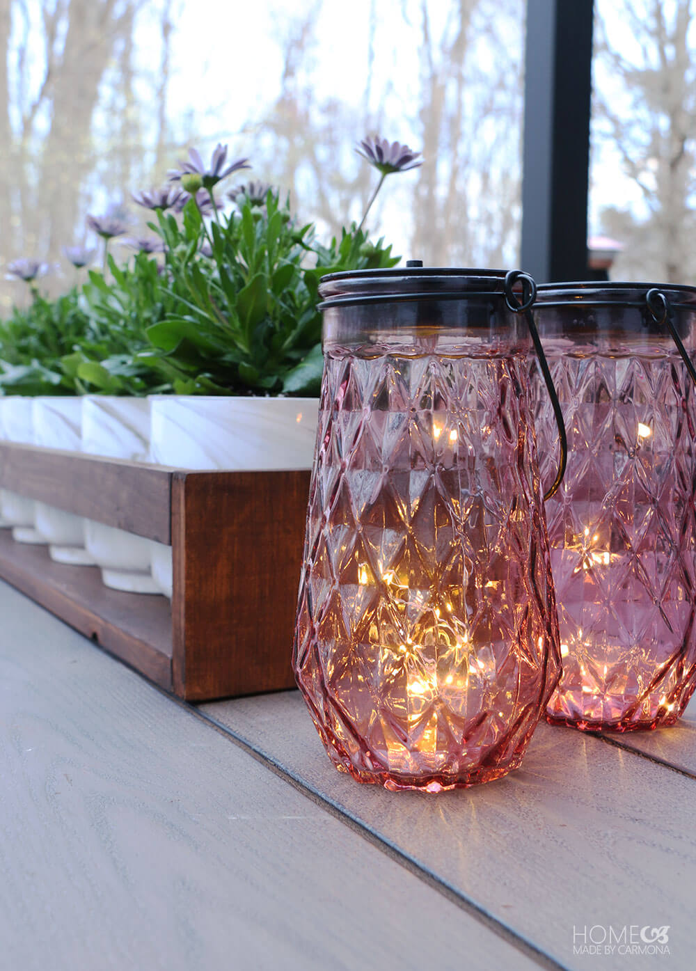 Twinkle light solar lanterns