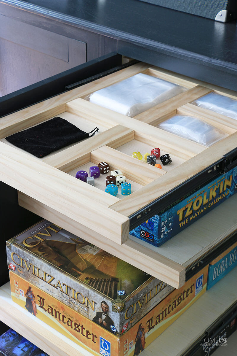 Customized-drawer-pullout-compartments