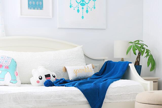 Budget Girl's Bedroom FI