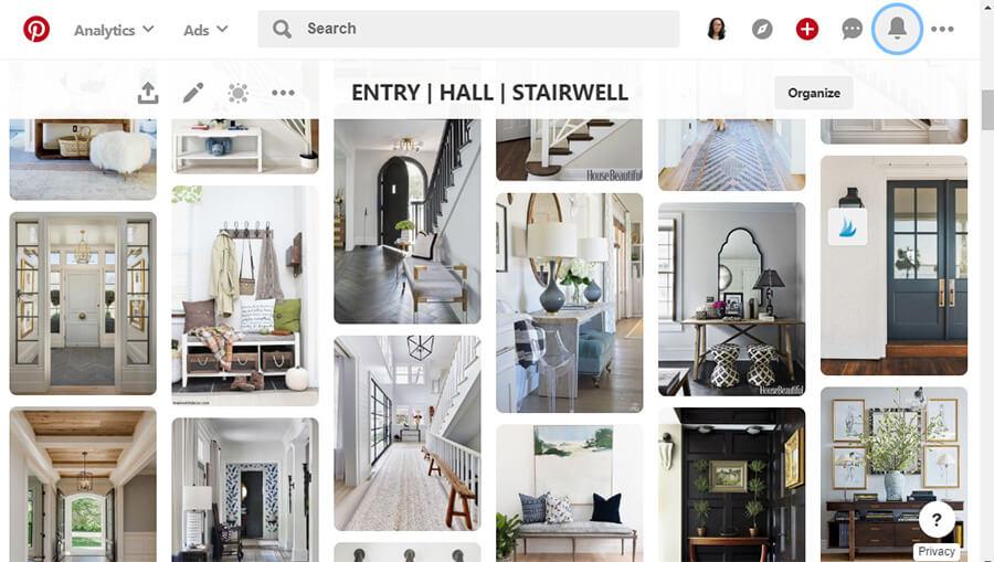 Entry-Pinterest-Board
