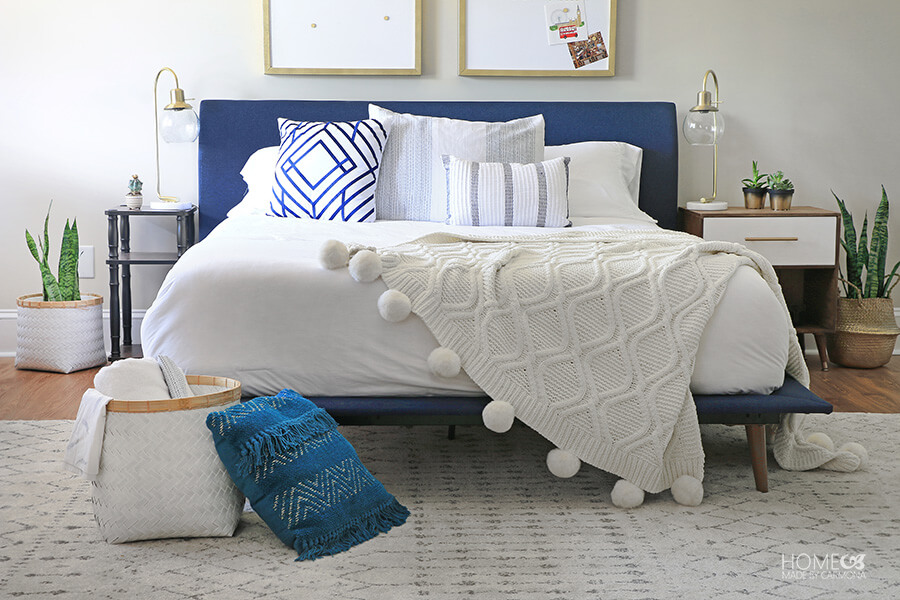 Mid-Century-Modern-Bedroom-Decorated