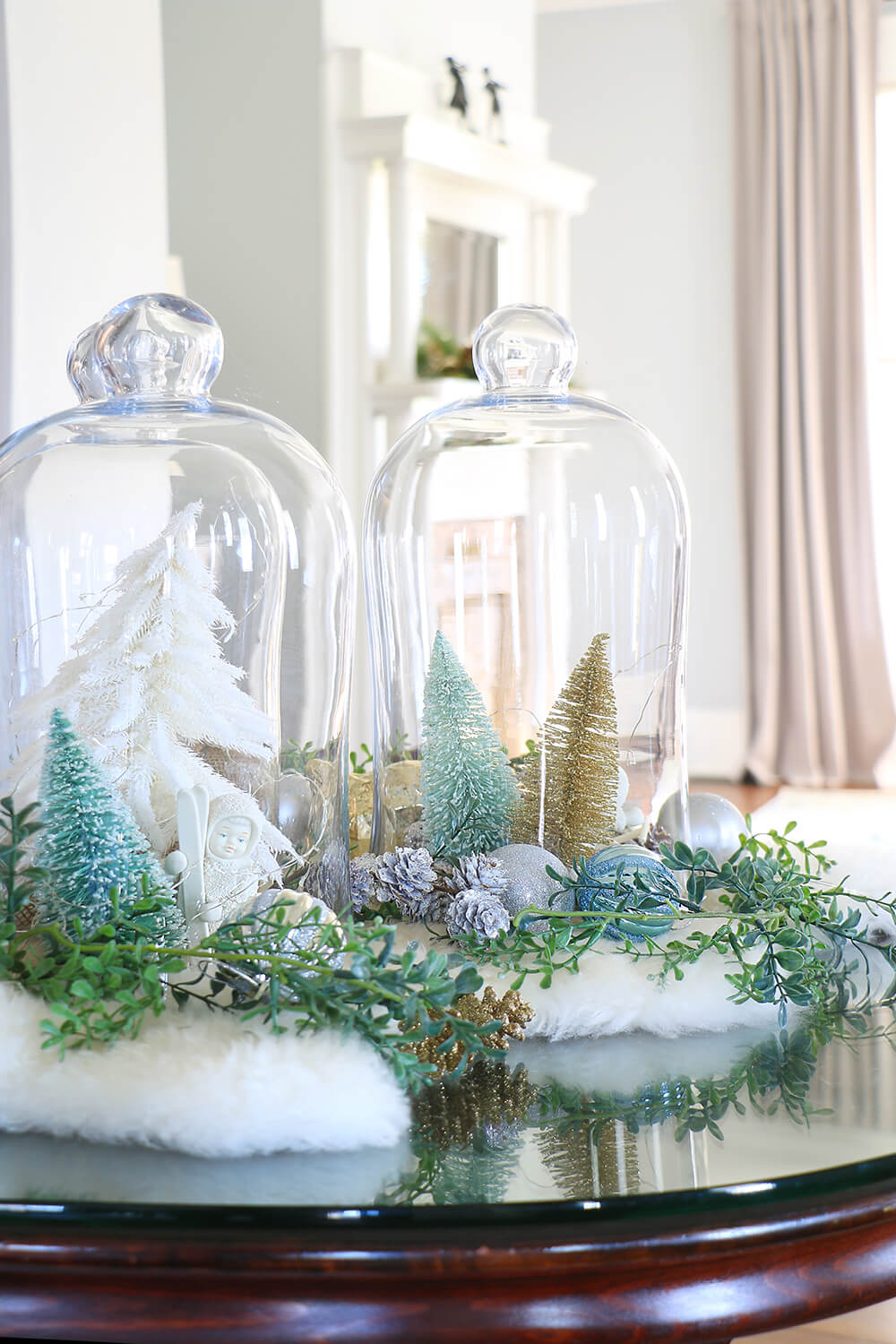 Bell-jars-wtih-Christmas-decor