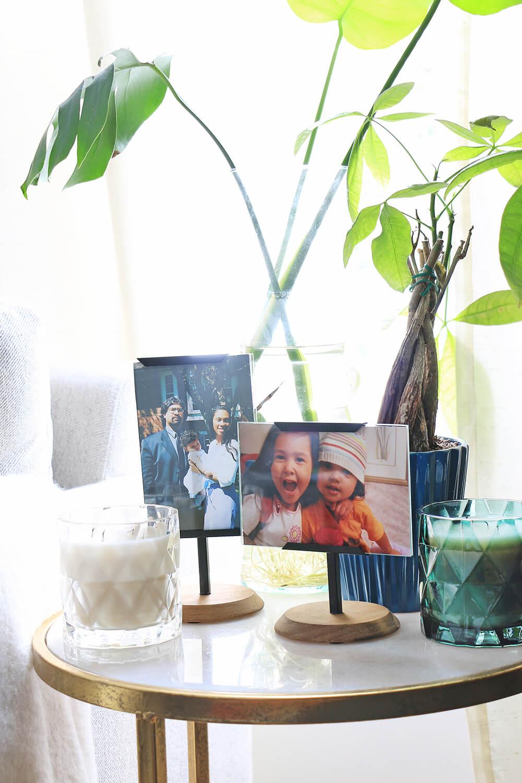 Family-photos-in-frames