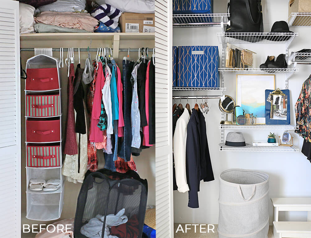 Closet-before-and-after