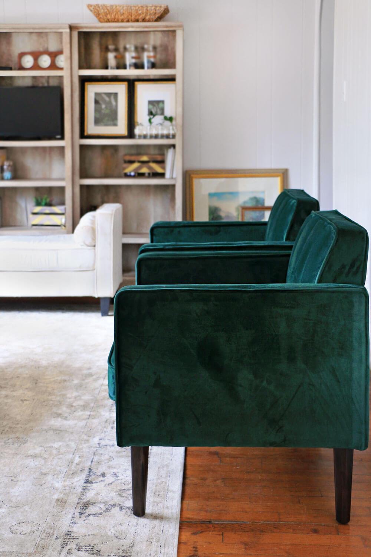 Green-armchairs