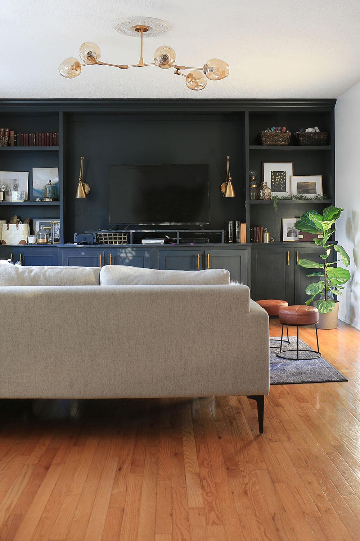 Living-Room-Globe-Light-Fixture