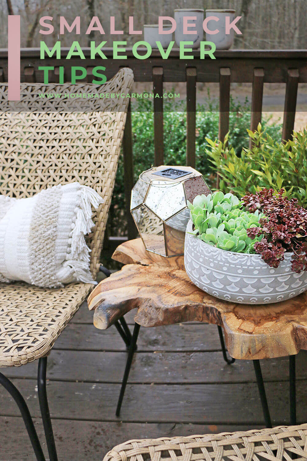 Small Deck Makeover Tips