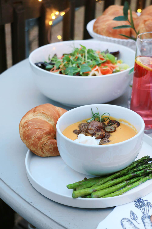 Summer Butternut Squash soup