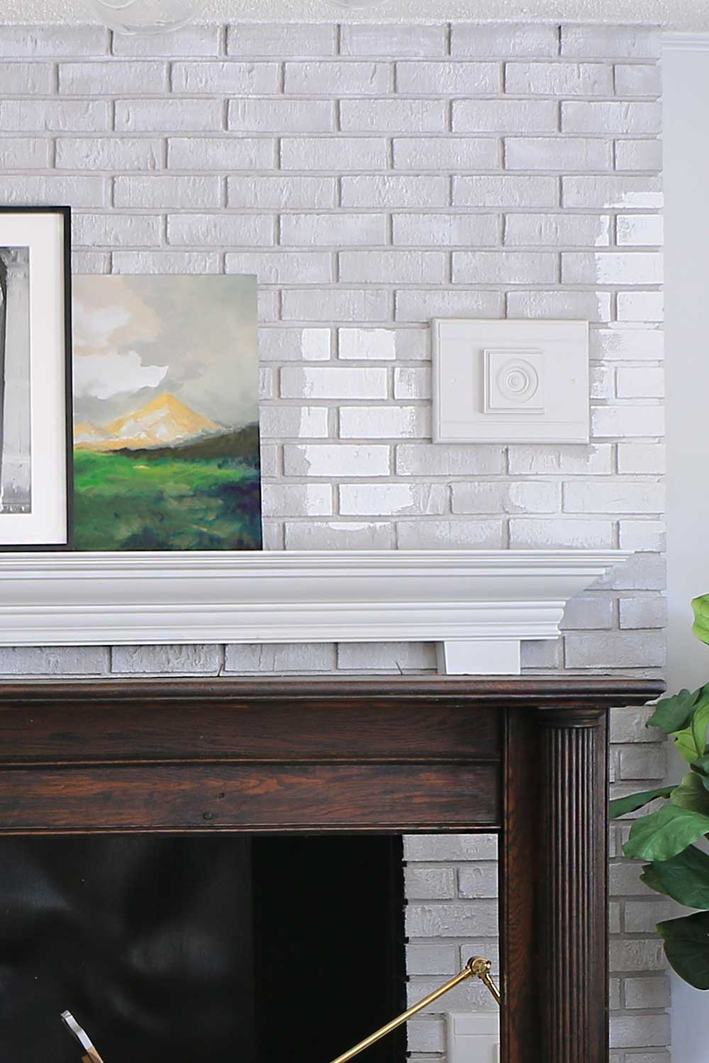 Fireplace Painting and Application