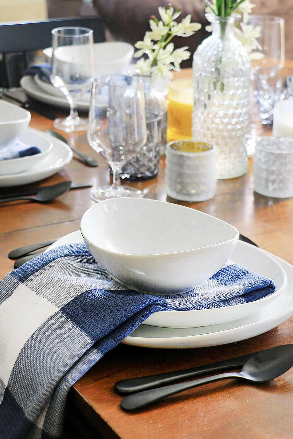 Dining Refresh with Oval dishes