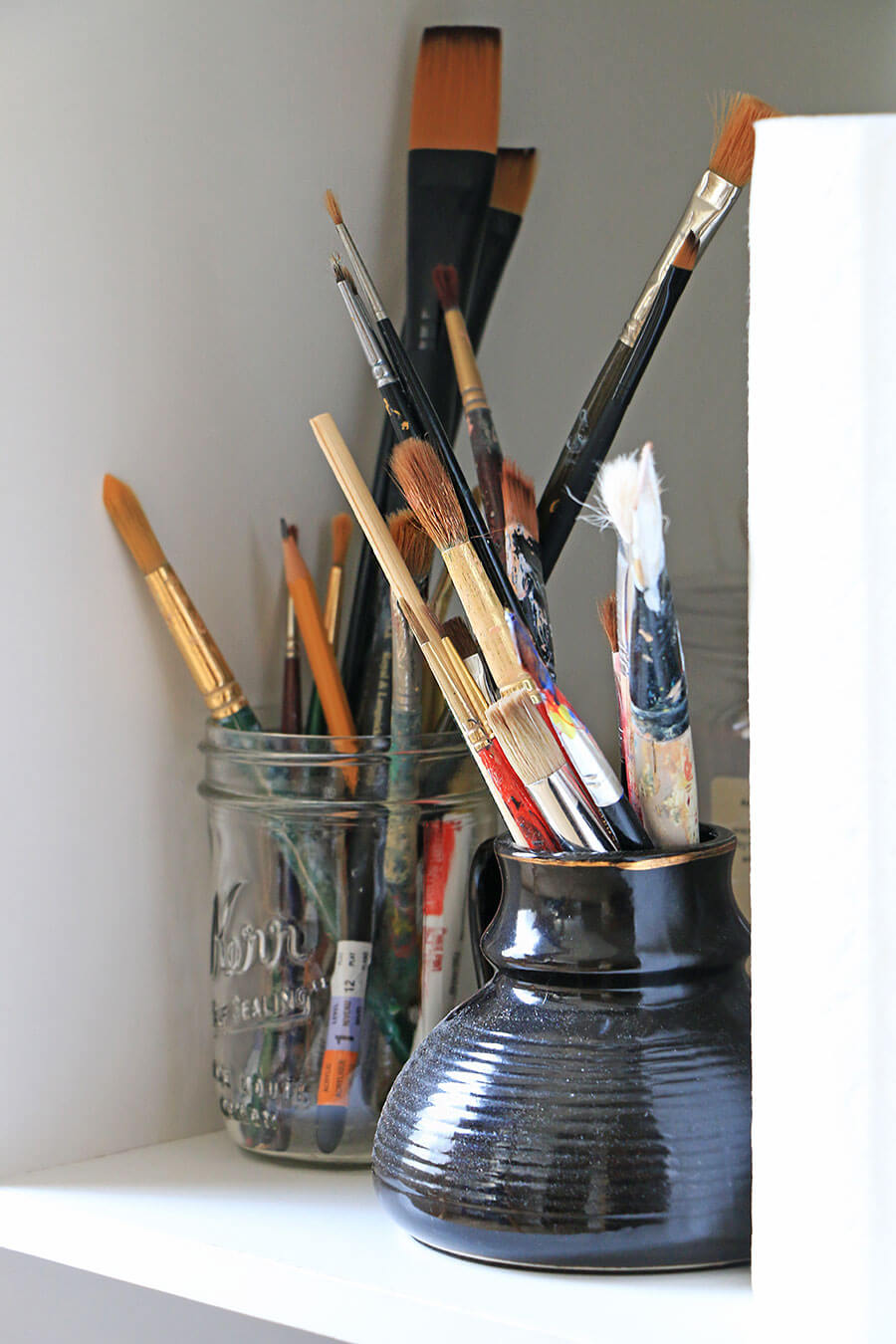 Artist-paint-brushes