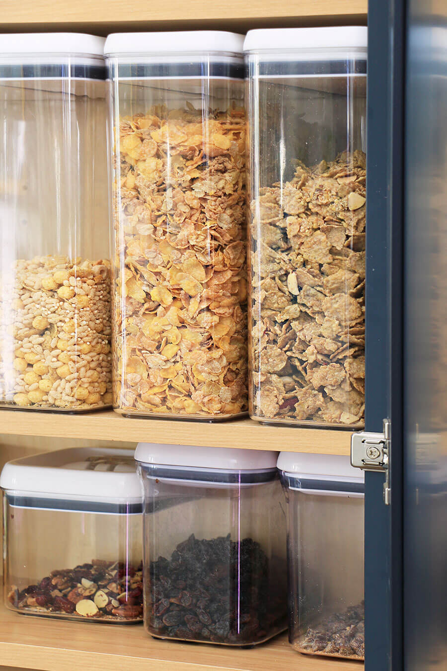 Cereal storage containers