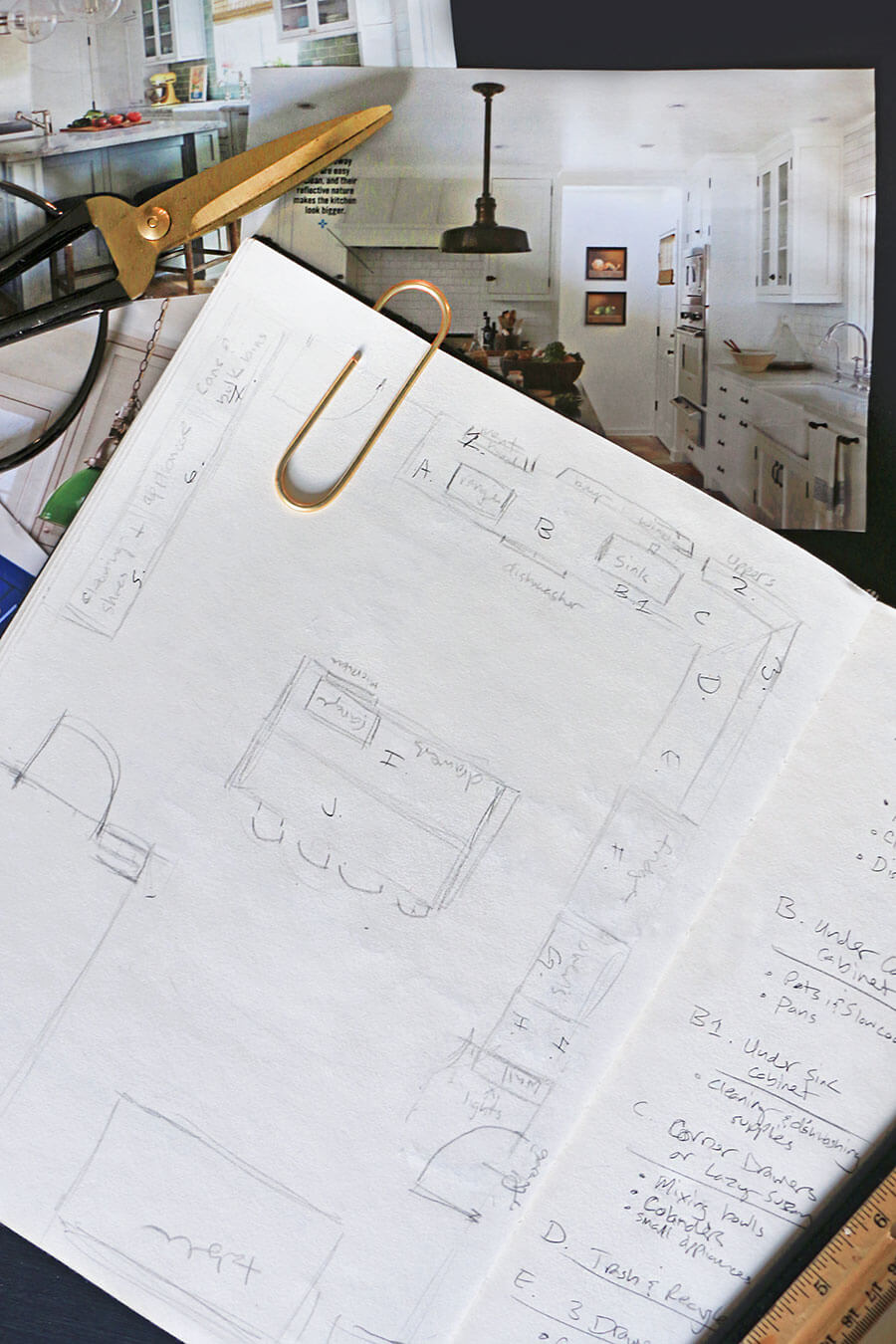 Kitchen-planning-drawing