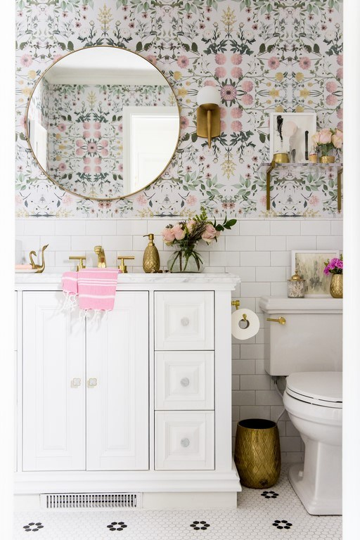 At Home with Ashley Bathroom