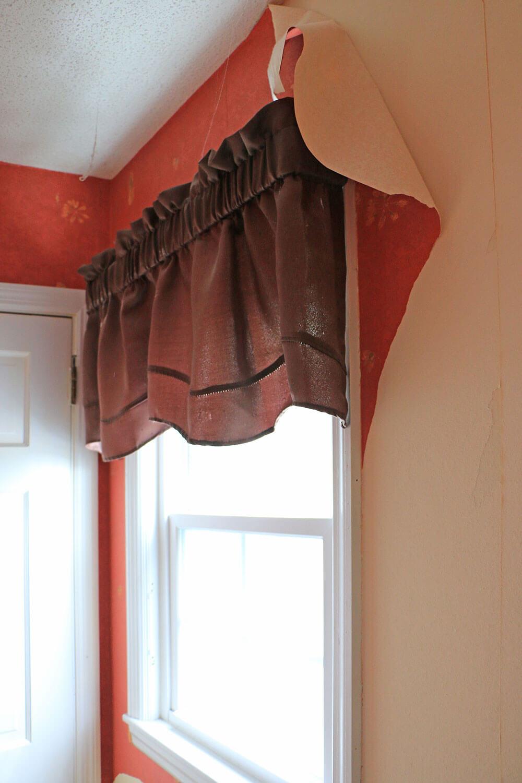 Brown-window-valance