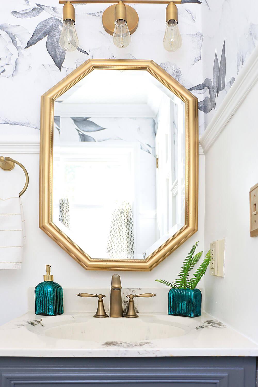 Gold-bathroom-mirror